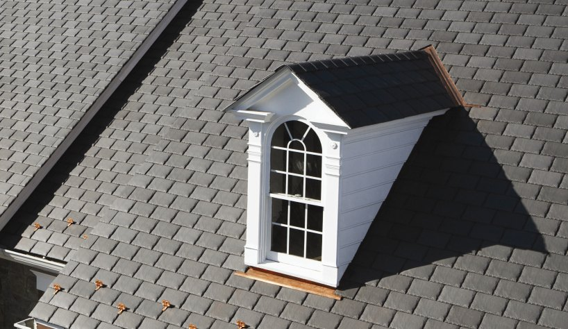 Symphony composite slate roof shingle